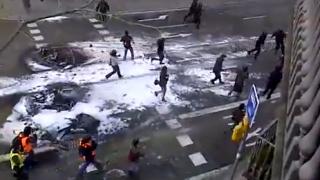 Barcelona: Zusammenstöße bei Demo gegen Sparmaßnahmen