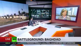 Nah-Ost-Journalistin Karin Leukefeld im Interview mit Russia Today