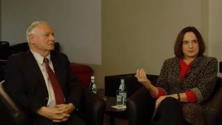 Oskar Lafontaine und Daniela Dahn