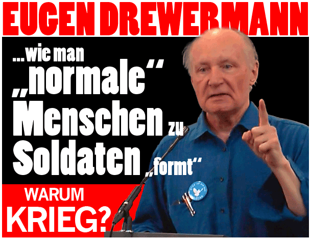 Drewermann: Warum Krieg?