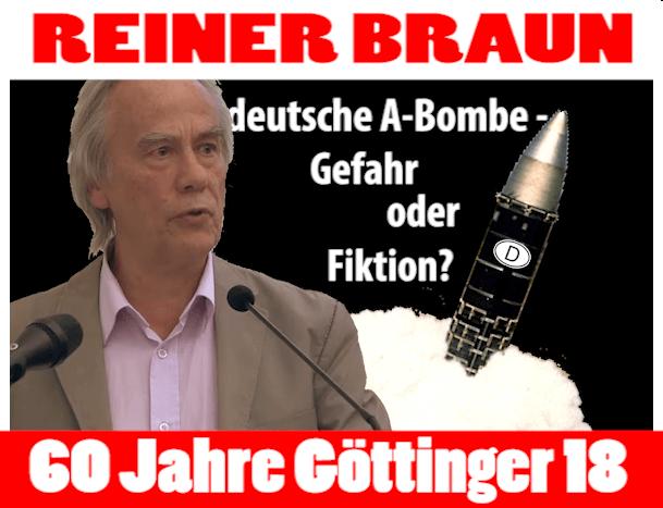 Die deutsche Atombombe - Gefahr oder Fiktion?