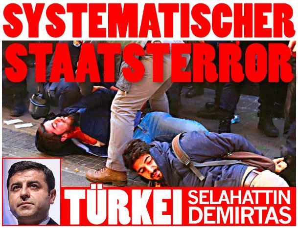 Staatsterror in der Türkei