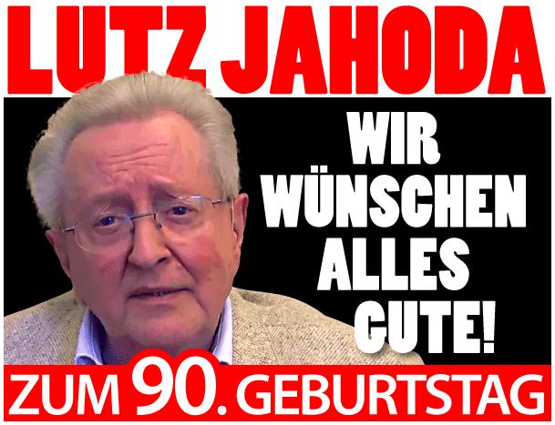 Lutz Jahoda zum 90. Geburtstag