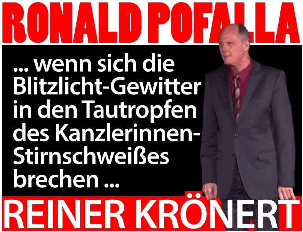 Reiner Kröhnert ist Ronald Pofalla