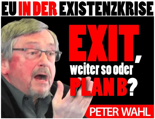 Peter Wahl: EU in der Existenzkrise