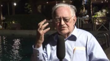 Der US-amerikanische Sozialtheoretiker Immanuel Wallerstein