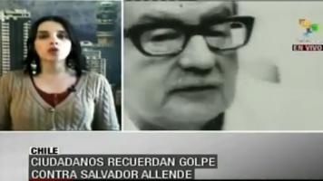Telesur-Korrespondentin aus Chile