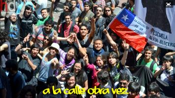 """""""Wieder auf der Straße"""" - Protestteilnehmer"""