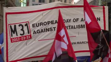 M31-Demonstration in Frankfurt am Main