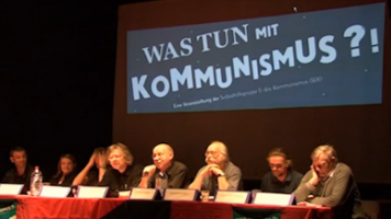 """Veranstaltungsreihe """"Was tun mit Kommunismus?"""""""
