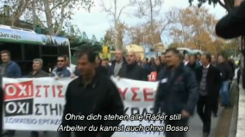 Streik der Stahlarbeiter von Halyvourgia Ellados