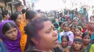 Rede einer Textilarbeiterin in Bangladesh