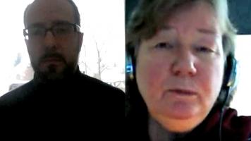 Harald Neuber im Skype-Gespräch mit Karin Leukefeld