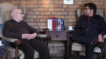 Manfred Wekwerth im Gespräch mit Diether Dehm
