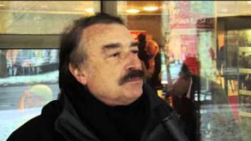 Der französische Publizist Ignacio Ramonet