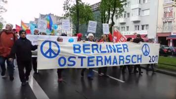 Ostermarsch 2017 in Berlin