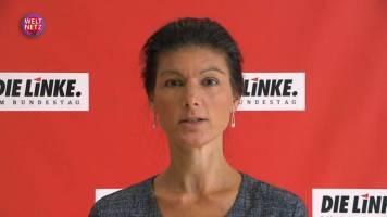 Sahra Wagenknecht: Kommen Sie nach Ramstein!