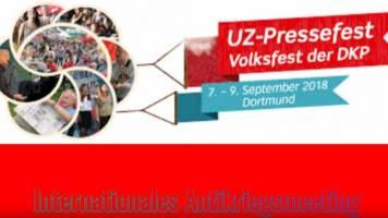 UZ Pressefest 2018