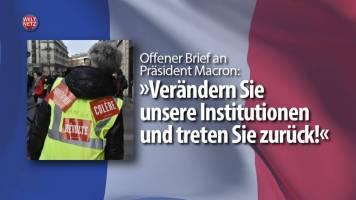 Offener Brief an Präsident Macron