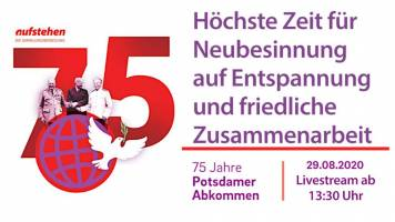 75 Jahre Potsdamer Konferenz