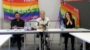 v.l.n.r. Mike Nagler, Reiner Braun, Laura Jäckel