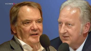 Folker Hellmeyer und  Prof. Dr. Rudolf Hickel