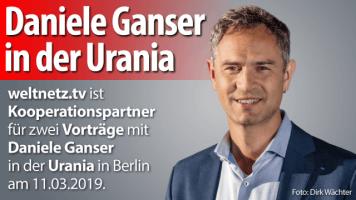 Daniele Ganser in der Urania