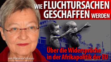 Marianna Schauzu über Afrikapolitik der EU und Fluchtursachen