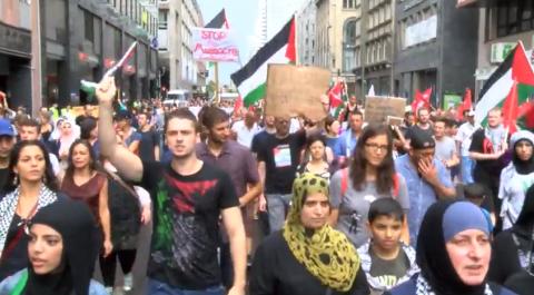 Berlin: Demo für Frieden in Gaza