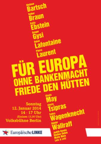 Für Europa ohne Bankenmacht – FRIEDE den Hütten