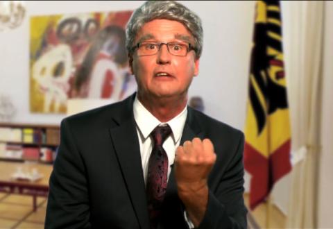 What a man: Ehrendoktor Joachim Gauck!
