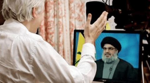 Julian Assange interviewt Hassan Nasrallah