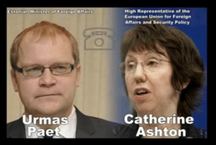 Urmas Paet und Catherine Ashton