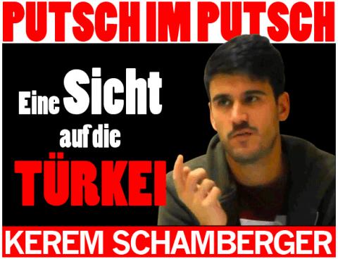 Schlagzeile Kerem Schamberger