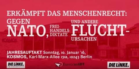 Jahresauftakt Europäische Linke