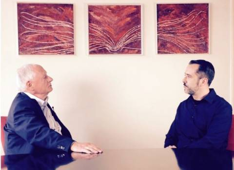 Oskar Lafontaine im Gespräch mit Harald Neuber