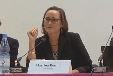 Martina Renner, MdB für DIE LINKE