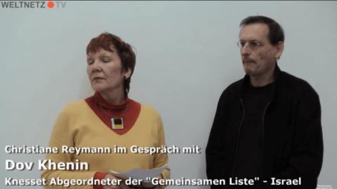 Christiane Reymann im Gespräch mit Dov Khenin