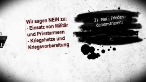 Ukraine: Stoppt Eskalation und drohenden Krieg -- Demo in Berlin