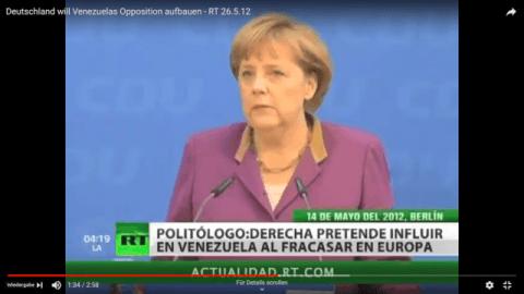 Deutschland will Venezuelas Opposition aufbauen