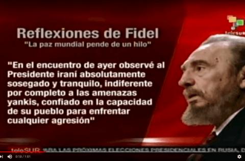 Fidel Castro: USA gefährden Weltfrieden