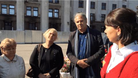 Opfer des Odessa-Massakers klagen an