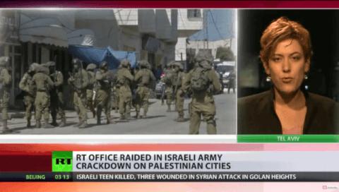 IDF überfällt RT Büro in Ramallah