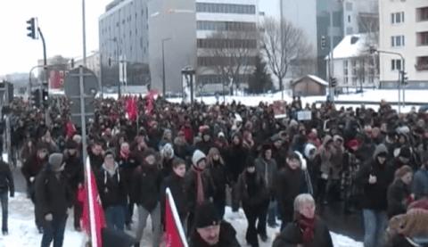 Dresden Nazifrei 2012 – Prügelorgie der Polizei