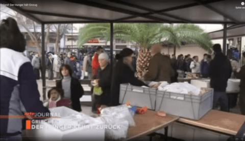 Der Hunger hält Einzug in Griechenland