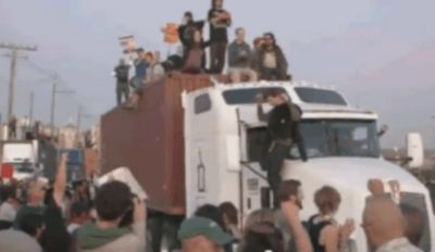Occupy und die Hafentrucker
