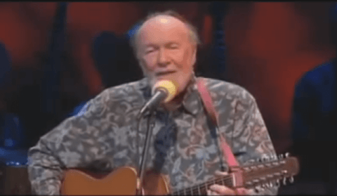 Folklegende Peter Seeger