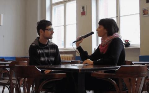 Dionisis Granas Hellenischen Gemeinde zu Berlin im Weltnetz.tv-Interview