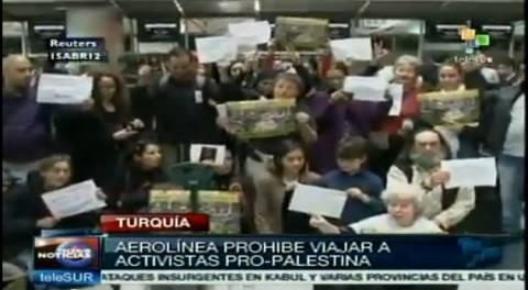 Turkish Airlines verwehrt Palästina-Aktivisten den Flug