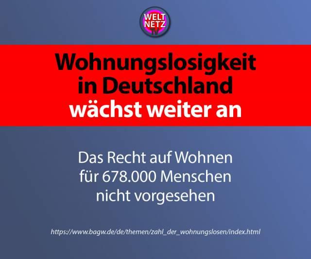 Wohnungslosigkeit in Deutschland wächst weiter an